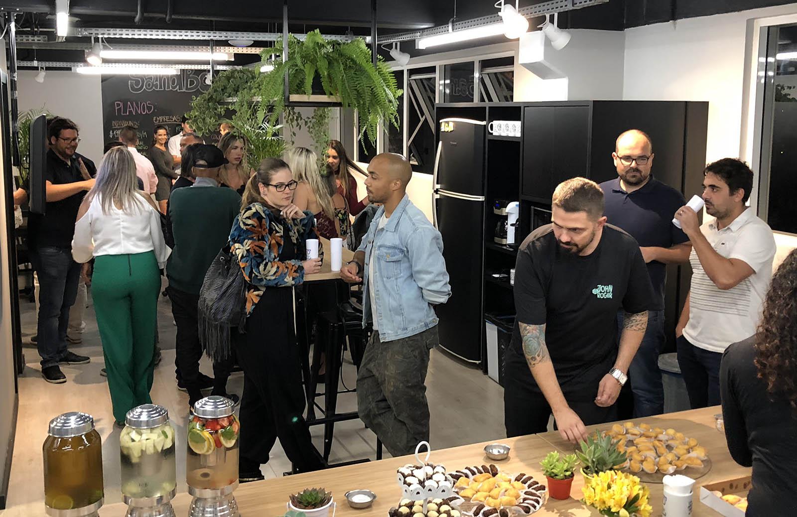 Eventos de networking no sandbox coworking em florianópolis